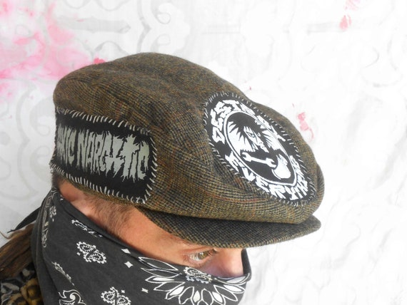 crust punk newsboy hat