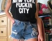 New York Fuckin City tank