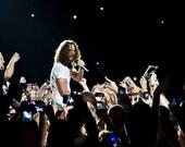 Chris Cornell-Soundgarden-Matted Print