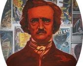 A Portrait of Poe-  Framed Print