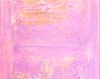 PURPLE HUE -  Original Abstract Acryllic painting on canvas