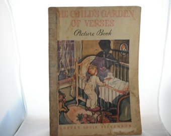The Childs Garden of Verses Picture Book Robert Louis Stevenson