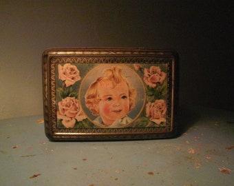 1920's Trinket Tin