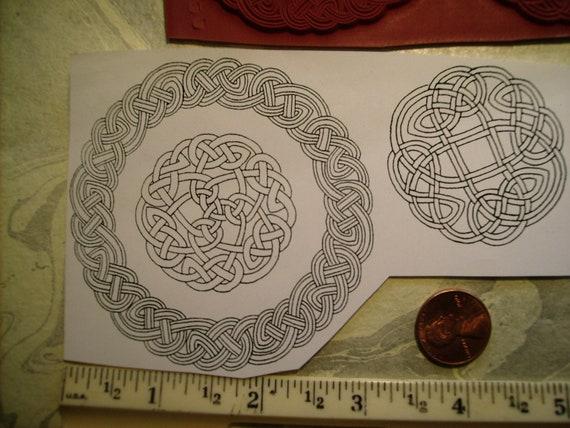 kreis tattoo keltische knoten seil stempel un montierte. Black Bedroom Furniture Sets. Home Design Ideas