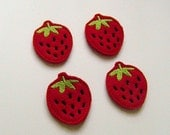 Strawberry Applique Set