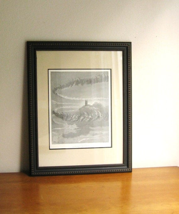 Vintage Dante's Divine Comedy Paradiso Canto 18  Picture or Wall Hanging, Illustrated by Gustave Dore