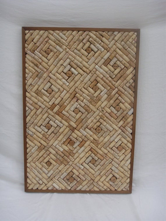 Wine cork cork board for Making a cork board from wine corks