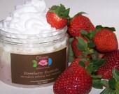 Strawberry Shortcake Microderm Refining Body Scrub sample .50 oz
