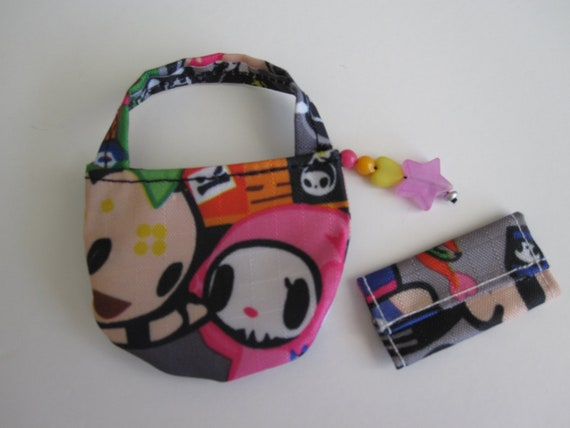 Tokidoki Inspired Handbag and Wallet suitable for Barbie, Blythe, FR, Integrity