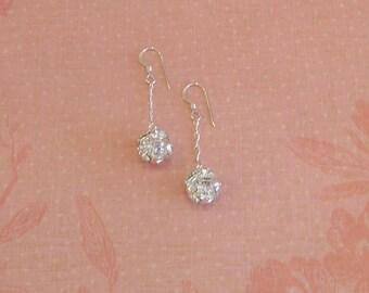 Fireball Dangle Earrings