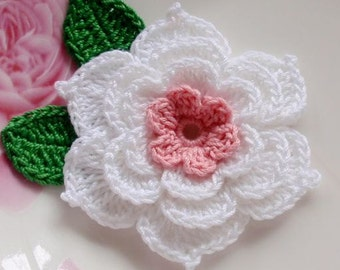 Crochet Flower in 2-1/2 inches YH-040-01