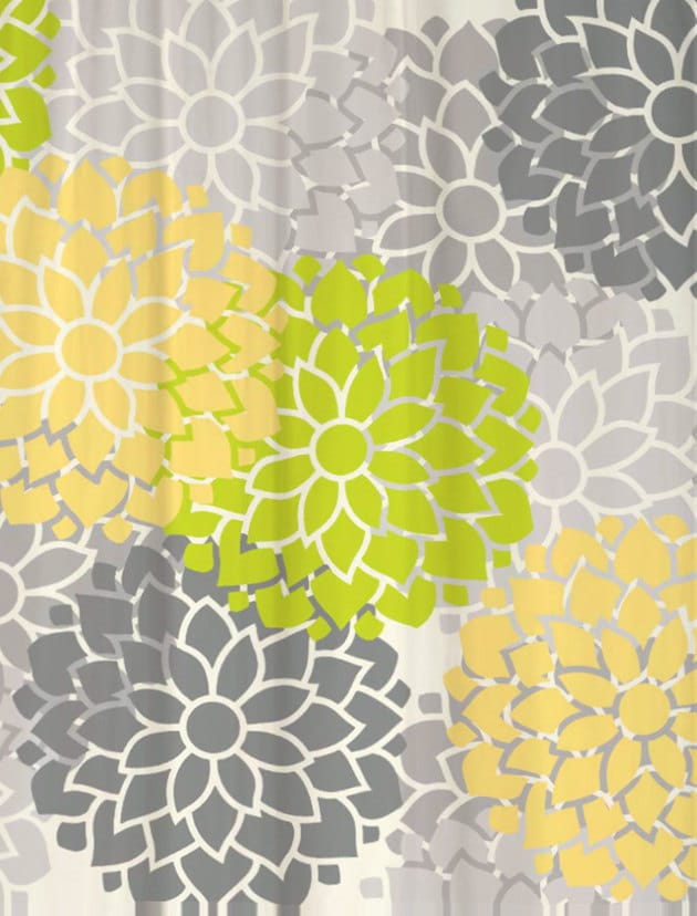 wonderful lime green shower curtain part 7 lime green and gray shower curtain home