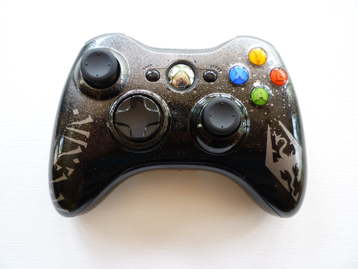 Custom Painted Skyrim Controller for Xbox 360