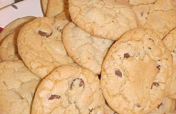 Infamous Orange Chocolate Chip Cookies (1.5 Dozen)