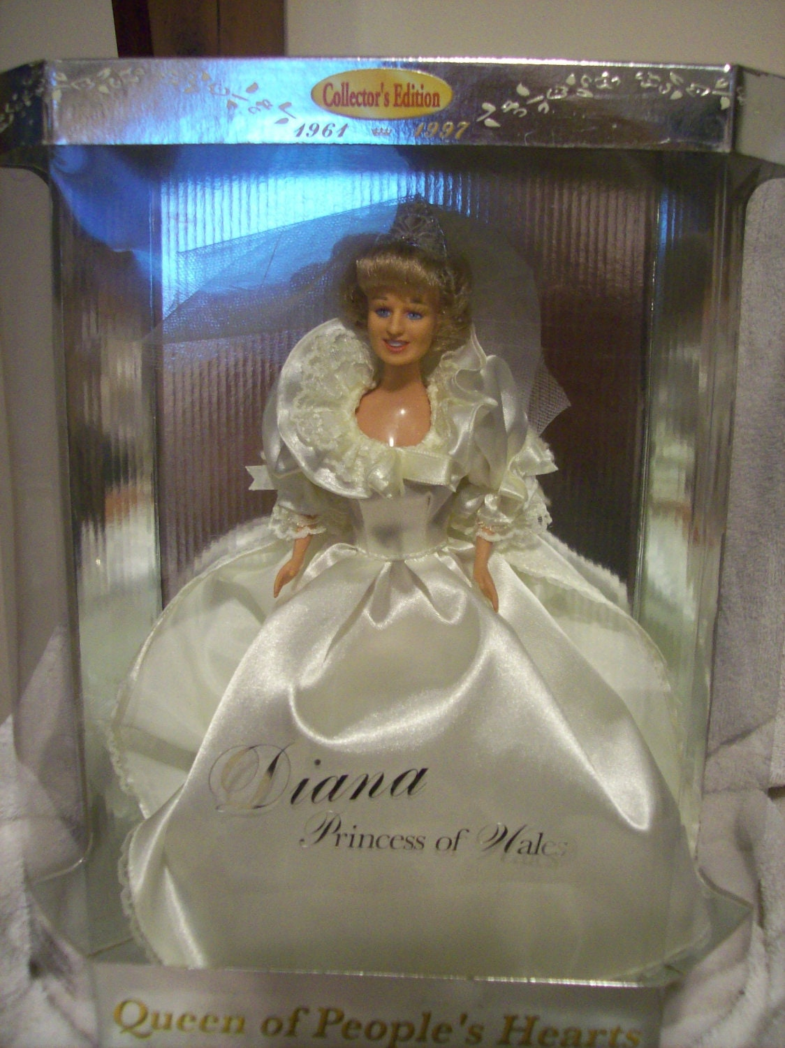 Princess Diana Collectors Edition Doll by CarlenesCollectibles