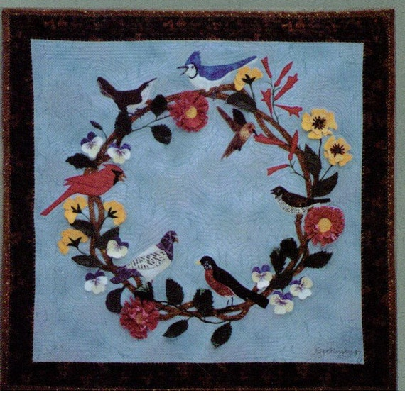 Curiosity Birds Applique Quilt Patterns Quilt Patterns Applique Birds