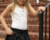 Child's Black Cat Skirt