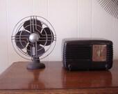 Art Deco Jack Frost Fan by Knapp Monarch