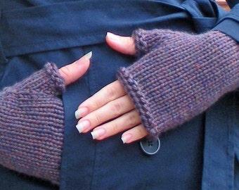 Knitting PATTERN - Simple Surly Gloves - Fingerless Gloves