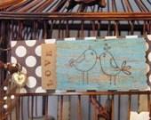 2 Birds of a Feather Love Birds Bookmark