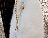 Vintage Arctic Fox Handbag
