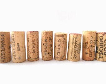 Lot of 100 used Wine corks 100 Natural wine corks Real Wine Cork Assorted corks High quality corks