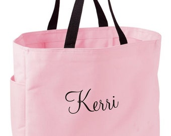 Personalized Tote Bag Wedding Tote Bridesmaid Tote