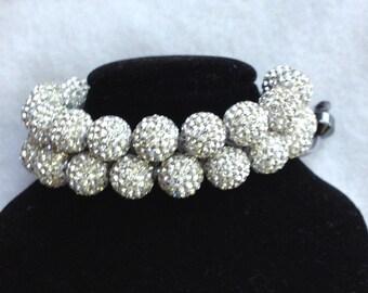 Shamballa Rhinestone Bracelet