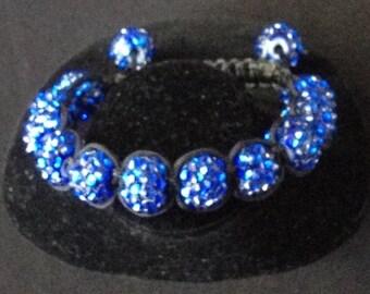 Shamballa Bracelet -blue