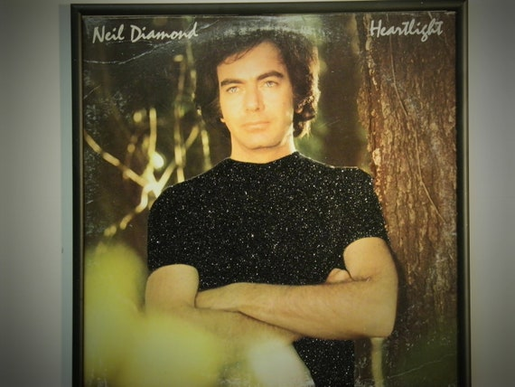 Glittered Record Album - Neil Diamond