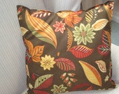 Accent Throw Pillow Fall Inspired