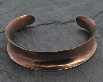 Copper Anticlastic Cuff Bracelet