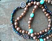 Simple 3 piece Beaded Bracelet Set