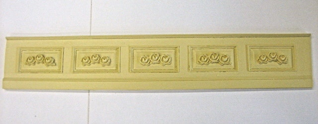 Dollhouse Miniature Rose Wall Paneling Raised Panel By Gg1350
