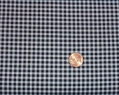 Michael Miller Fabric, gingham, tiny, black and white