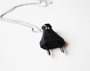 The Plug - Funky Shrunky Necklace