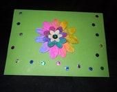 Funky Flower card