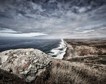 Landscape Photography - Point Reyes Boulder, California -  8x12