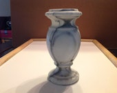 Marble Flower Vase for grave site or headstone.