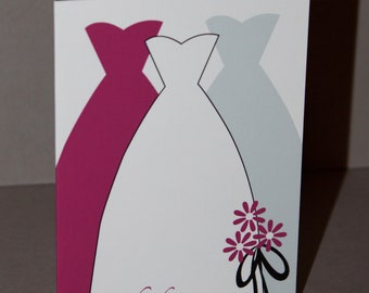Bridal Dresses Thank-You Cards