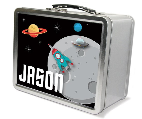 Items similar to outer space star theme lunch memory box for Outer space gifts