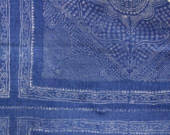 "Raoul Textile ""Chunari"" Hand Printed Linen Drapery Panels"