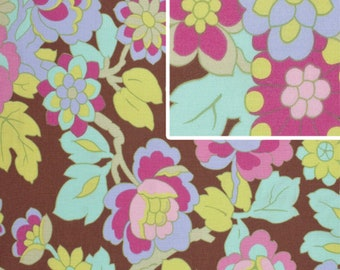 Cutting Garden Mocha fabric Gypsy Caravan by Amy Butler 2 yards