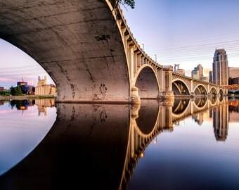 Third Avenue Bridge - Minneapolis, MN - Minneapolis Skyline Photography