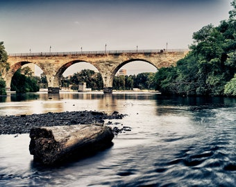 Stone Arch Calm - Minneapolis, MN - Minneapolis Photography