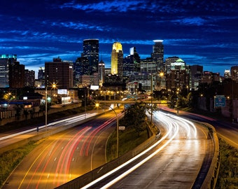The Classic Shot - Minneapolis, MN - Minneapolis Skyline Photography