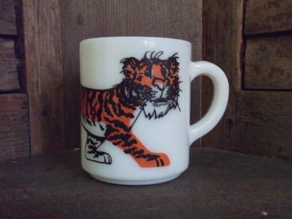 Vintage Esso Exxon Tiger Coffee Mug