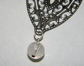 Enchanting Leaf Charm Necklace
