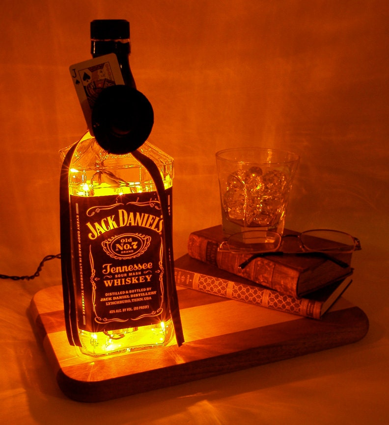 Jack Daniels Light Up Liquor Bottle