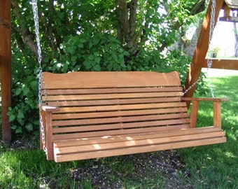 Amish Crafted 4'Cedar  Porch Swing